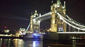 London Bridge in a midsummer night