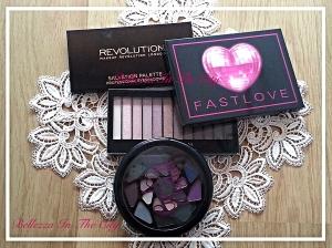 La mia collezione palette Makeup Revolution e Iheartmakeup