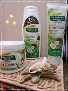 Palmers' Coconut Oil Shampoo e Balsamo