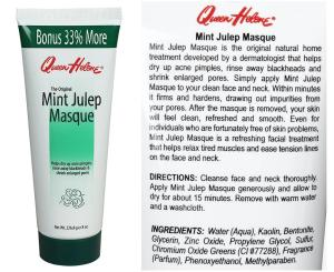 Helene Queen - Mint Yulep face Mask