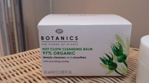 Botanics Organic Hot Cloth Cleansing Balm