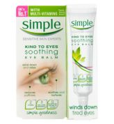 Kind to Eyes, Soothing Eye Balm della Simple