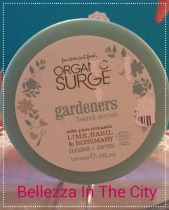 Organic Surge Gardeners Hand Scrub.