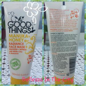 Good Things: Manuka Honey Maschera per il viso