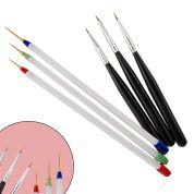 Set di Pennelli per Nail Art