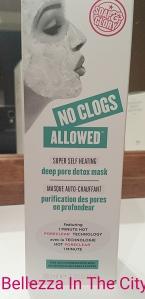 No Clogs Allowed Super Self-Heating Deep Pore Detox della Soap&Glory