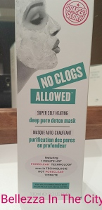 No Clogs Allowed Super Self-Heating Deep Pore Detox della Soap&Glory