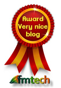 Award Very Nice blog