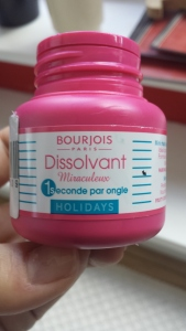 Magic nail Polish remover Bourjois