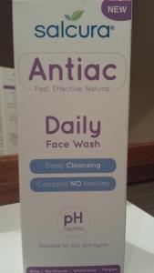 Daily Face Wash - Antiac Salcura Skincare