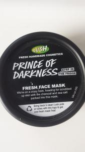 Maschera per il viso Lush: Prince of Darkness