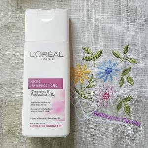 Cleansing & Perfecting Milk – Skin Perfection di L'Oreal