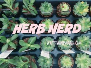 Herb Nerd Tag