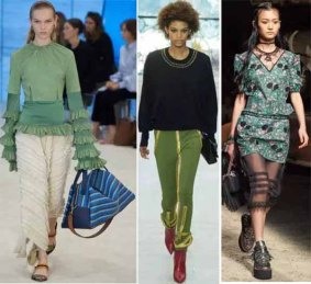 greenery-color-from-fashion-show