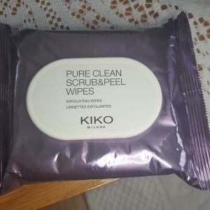 Pure-Clean-Scrub-Peel_Wipes-Kiko-bellezzainthecity