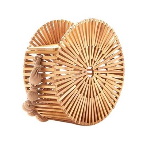 Summer Womens Retro Beach-Handbags-Ladies-Clutch-Bag-Natural-Bamboo-Tote-Bag-Bellezza-in-the-city