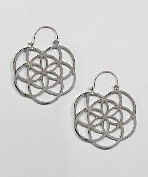 Asos Design Chakra Hoop Earring