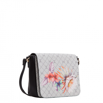 Carpisa - Flower Flap Bag with Shoulder Belt Cartego