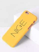 She In - Yellow Mobile Case