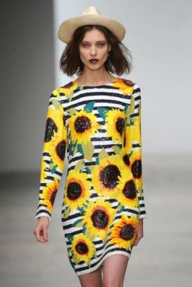 Sun Flower Dress - Pinterest