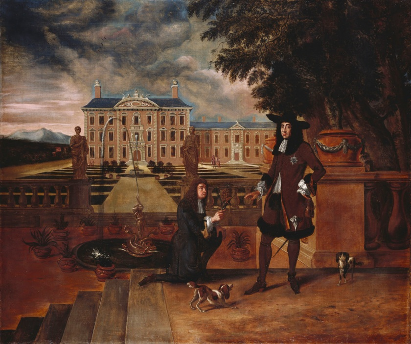 Charles II Presented with a Pineapple - Royal Collection Trust