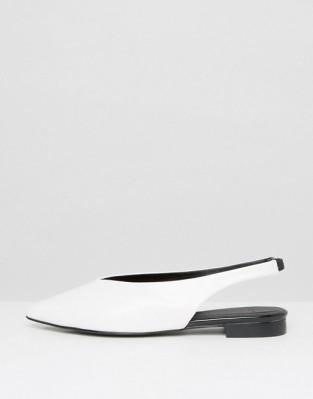 SlingBack Shoes - White Mango - Asos