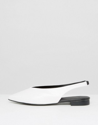 SlingBack Shoes - White Mango - Asos
