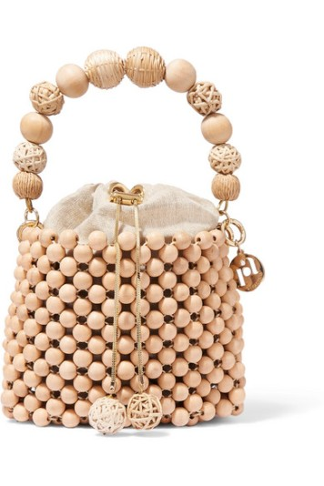 ROSANTICA Fenice beaded bucket bag£325