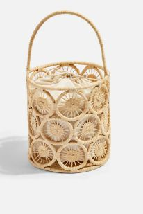 SAIL Handmade Straw Bucket Bag Courtesy Topshop